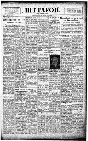Rotterdamsch Parool / De Schiedammer 1946-01-23