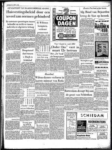 Rotterdamsch Parool / De Schiedammer 1962-12-11