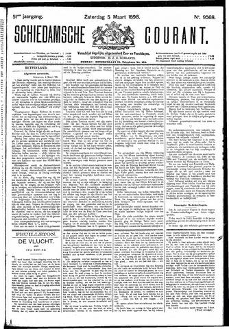 Schiedamsche Courant 1898-03-05