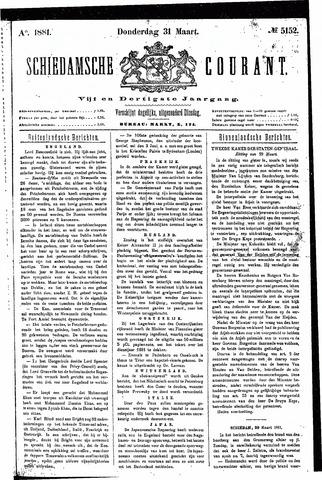 Schiedamsche Courant 1881-03-31