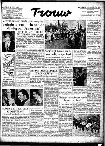 Trouw / De Rotterdammer 1954-06-21