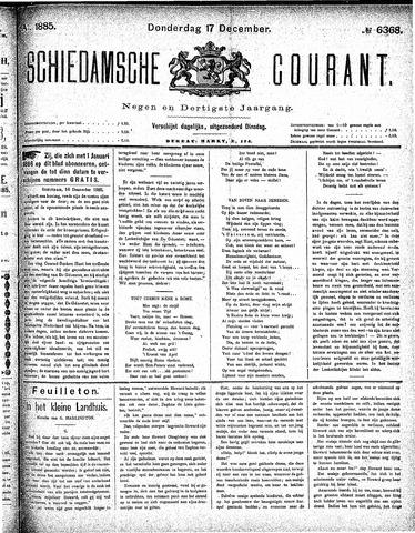 Schiedamsche Courant 1885-12-17