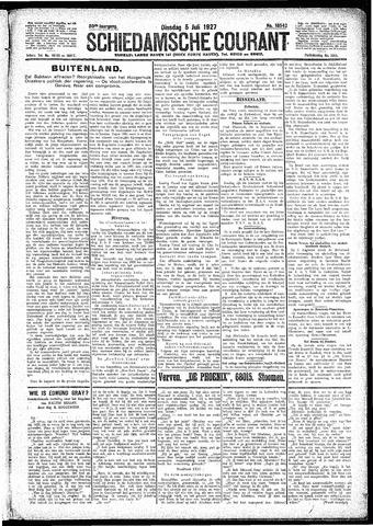 Schiedamsche Courant 1927-07-05