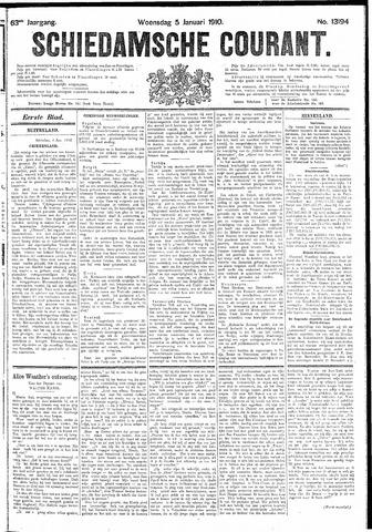 Schiedamsche Courant 1910-01-05