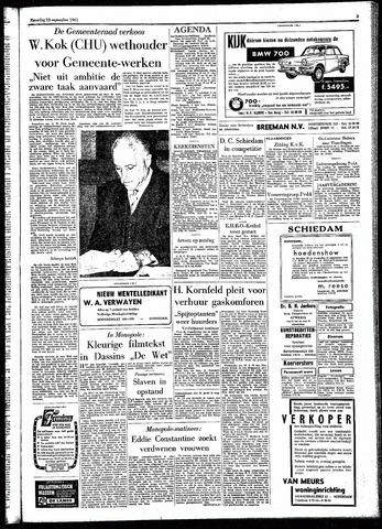 Rotterdamsch Parool / De Schiedammer 1961-09-23