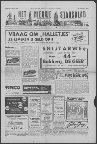 Het Nieuwe Stadsblad 1956-10-10