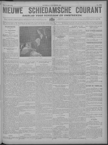 Nieuwe Schiedamsche Courant 1929-11-09