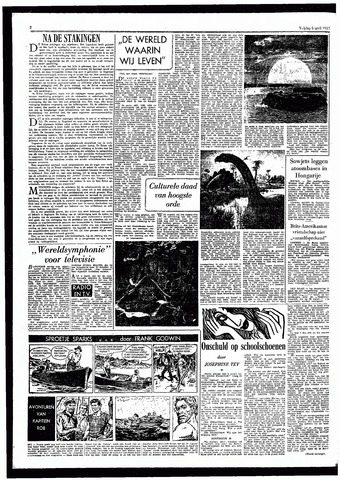 Rotterdamsch Parool / De Schiedammer 1957-04-05