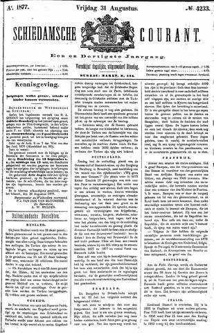 Schiedamsche Courant 1877-08-31