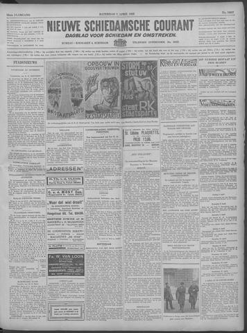 Nieuwe Schiedamsche Courant 1933-04-01