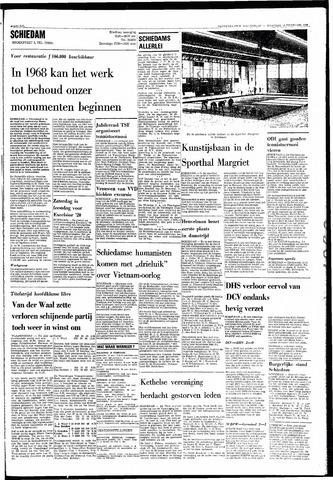 Rotterdamsch Nieuwsblad / Schiedamsche Courant / Rotterdams Dagblad / Waterweg / Algemeen Dagblad 1968-02-19