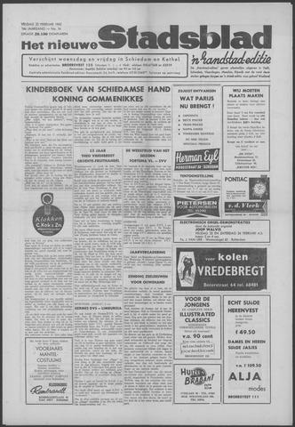 Het Nieuwe Stadsblad 1962-02-23