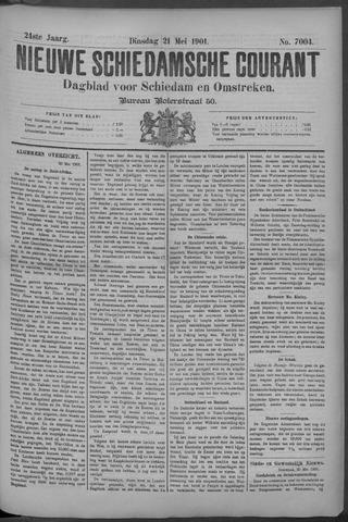 Nieuwe Schiedamsche Courant 1901-05-21