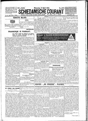 Schiedamsche Courant 1935-04-03