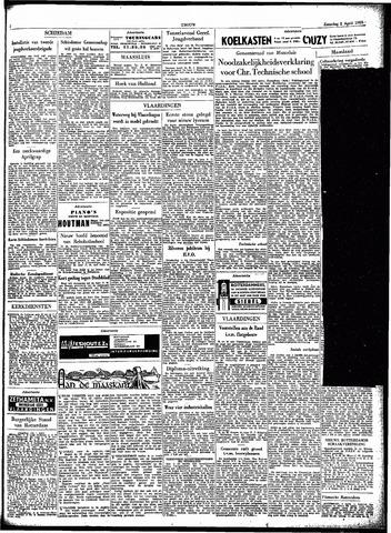 Trouw / De Rotterdammer 1955-04-02