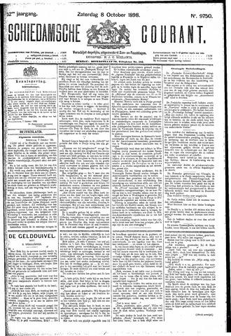 Schiedamsche Courant 1898-10-08