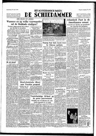 Rotterdamsch Parool / De Schiedammer 1949-04-28