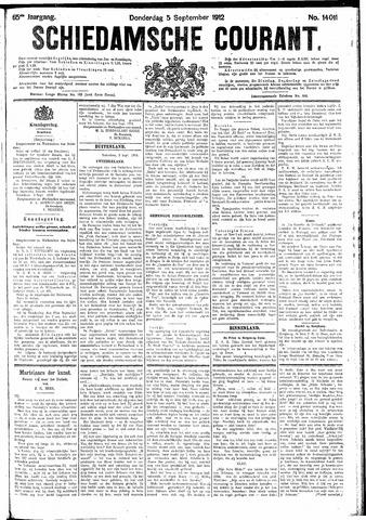 Schiedamsche Courant 1912-09-05