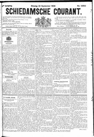 Schiedamsche Courant 1908-09-22