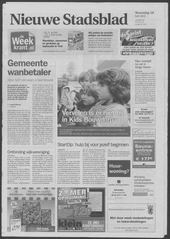 Het Nieuwe Stadsblad 2012-07-18