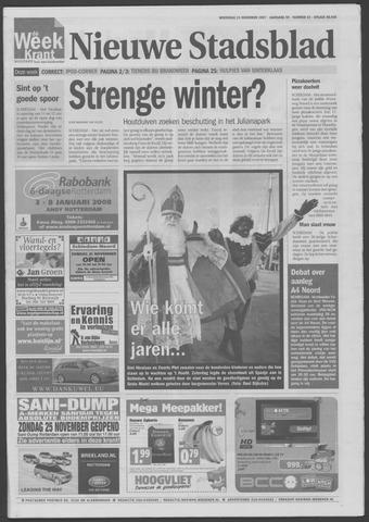 Het Nieuwe Stadsblad 2007-11-21