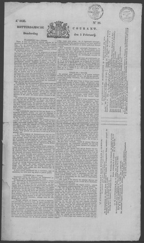 Rotterdamse Courant 1835-02-05