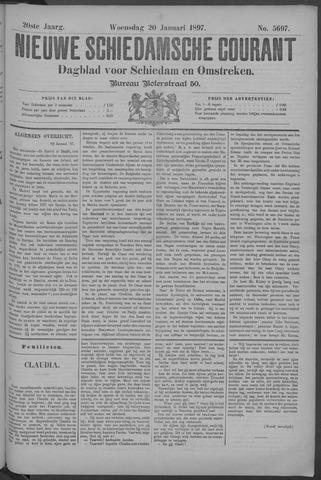 Nieuwe Schiedamsche Courant 1897-01-20
