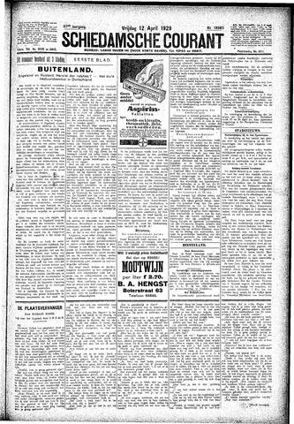 Schiedamsche Courant 1929-04-12