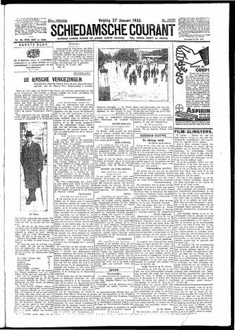 Schiedamsche Courant 1933-01-27