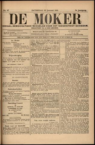 De Moker 1910-01-22