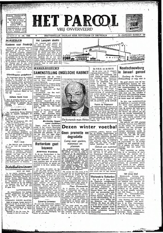 Rotterdamsch Parool / De Schiedammer 1945-07-28