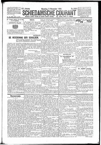 Schiedamsche Courant 1931-11-02