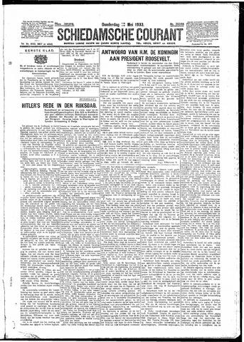 Schiedamsche Courant 1933-05-18
