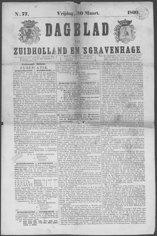 Dagblad van Zuid-Holland 1860-03-30