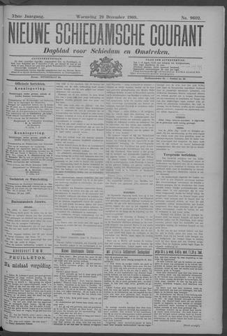 Nieuwe Schiedamsche Courant 1909-12-29