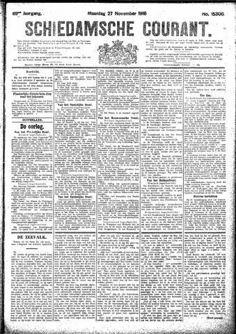 Schiedamsche Courant 1916-11-27
