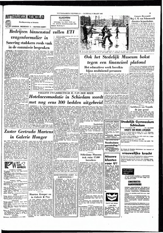 Rotterdamsch Nieuwsblad / Schiedamsche Courant / Rotterdams Dagblad / Waterweg / Algemeen Dagblad 1965-03-06