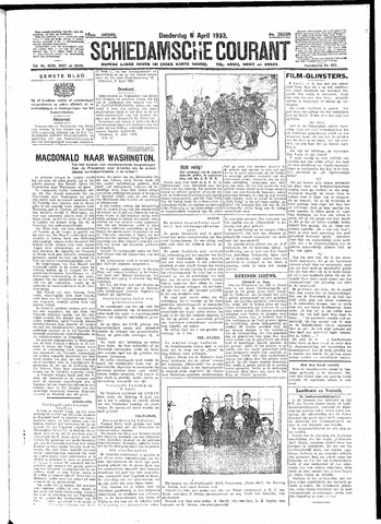 Schiedamsche Courant 1933-04-06
