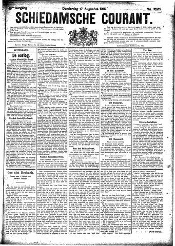 Schiedamsche Courant 1916-08-17