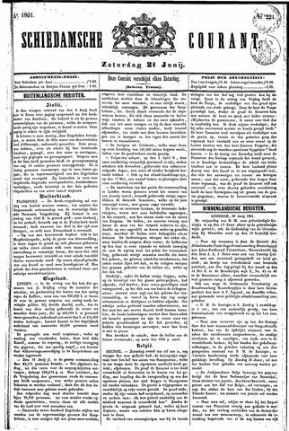 Schiedamsche Courant 1851-06-21
