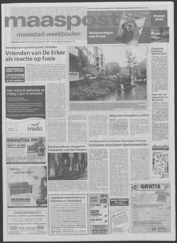 Maaspost / Maasstad / Maasstad Pers 2000-05-31