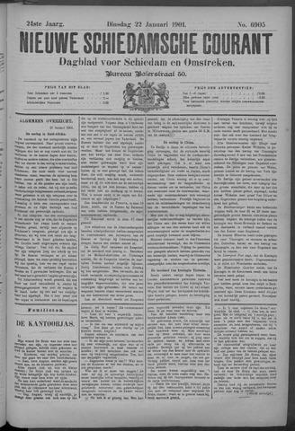 Nieuwe Schiedamsche Courant 1901-01-22