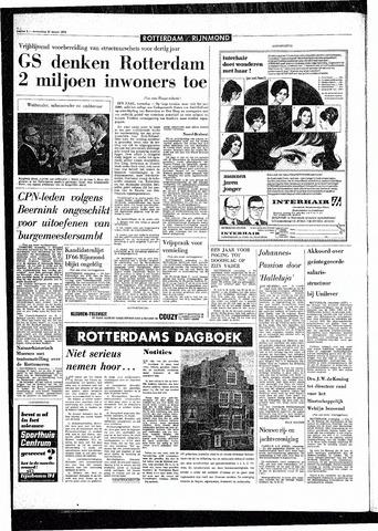 Rotterdamsch Parool / De Schiedammer 1970-03-25