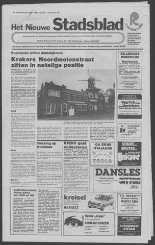 Het Nieuwe Stadsblad 1981-08-14