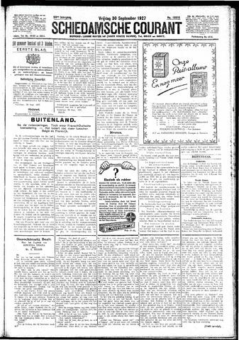Schiedamsche Courant 1927-09-30