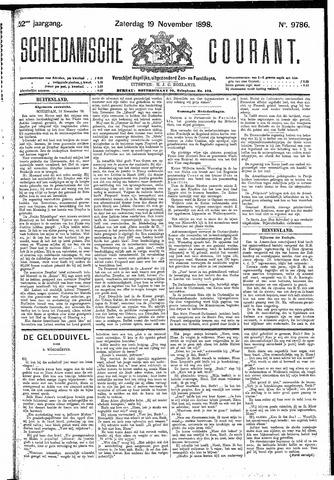 Schiedamsche Courant 1898-11-19