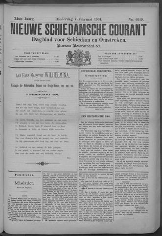 Nieuwe Schiedamsche Courant 1901-02-07