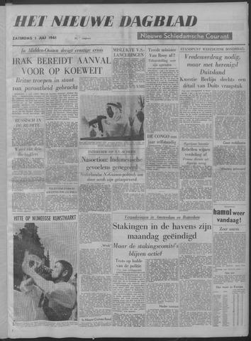 Nieuwe Schiedamsche Courant 1961-07-01