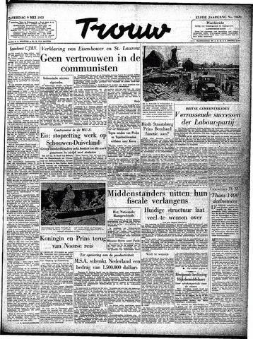 Trouw / De Rotterdammer 1953-05-09