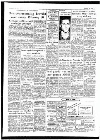 Rotterdamsch Parool / De Schiedammer 1955-07-30